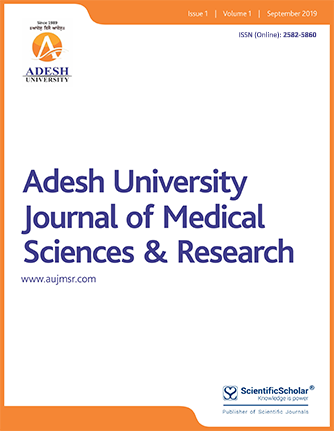 Adesh University Journal of Medical Sciences & Research